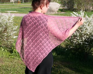 Candle Flame Shawl « princess pea