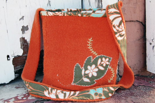Purse Pattern Felted Bag Knitting Patterns