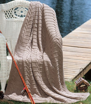 guyafghan2 sm Knitting Afghan Patterns