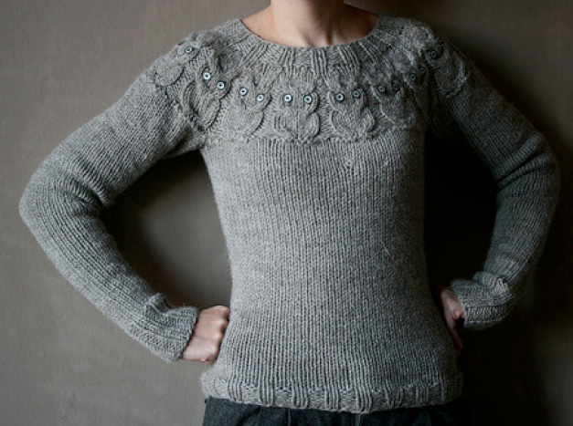 Sweater Knitting Patterns : Knitting Patterns Sweater Free crochet pattern for adult sweater ...