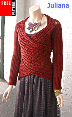 knit sweater Free Knitting Patterns, Crochet Patterns - Patons Yarn