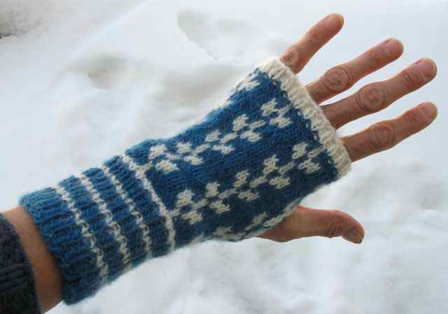 FINGERLESS MITTS PATTERNS |