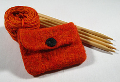 Free Pattern - Felted Coin Purse - Knitting
