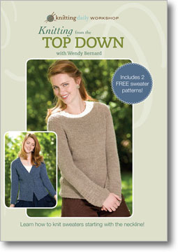 knitting from the top down dvd