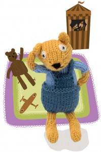 FREE PATTERN: Baby Bear Knit Amigirumi