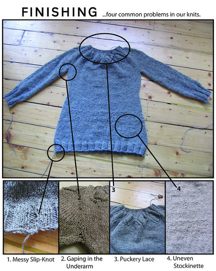 knit finishing tips