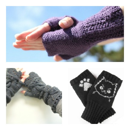 Victorian Fingerless Gloves Pattern - Knitting Patterns