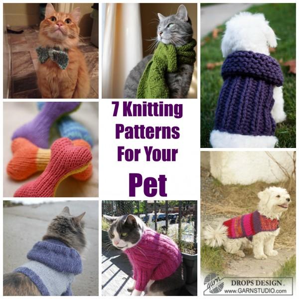 Pet Knitting Patterns : 7 Knitting Patterns For Your Pet   Knitting