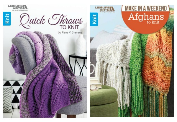 Your Chance to Grab these Blanket Knitting Books   Knitting
